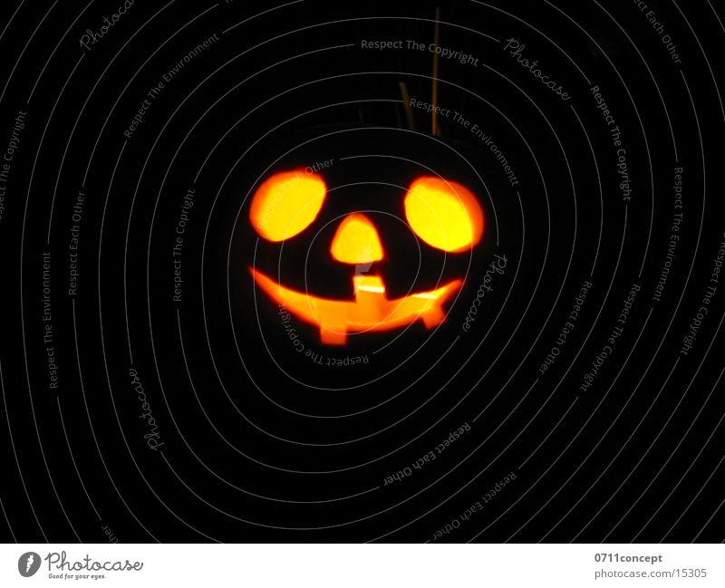 Joy Face Loneliness Dark Autumn Orange Fear Nose Candle Set of teeth Carnival Craft (trade) Seasons Doomed Hallowe'en Pumpkin