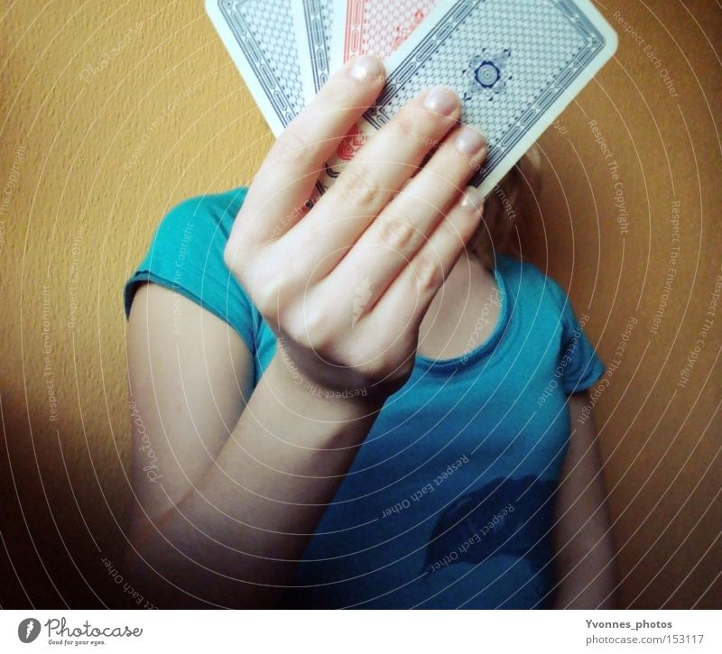 Woman Hand Joy Playing Happy Future Entertainment Playing card Poker Casino Monaco Game of chance Game of cards Skat