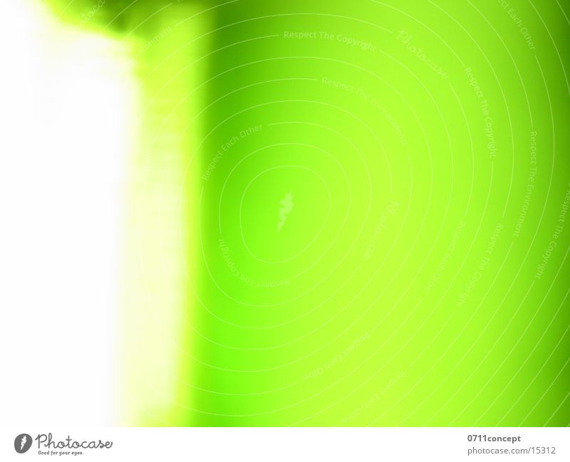The day I left Long exposure Light Green Background picture Style Flashy Glass screen Bright Lighting