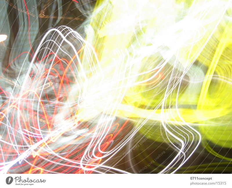 Yellow Crash Long exposure Style Light Lighting Reaction