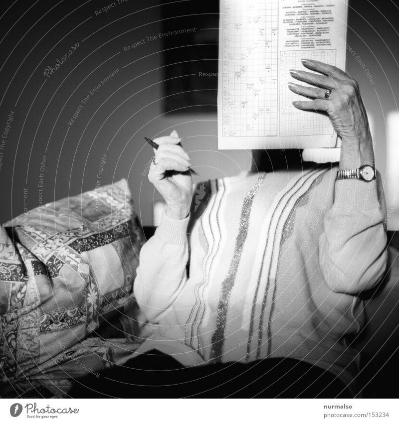 Senior citizen Work and employment Think Success Time Newspaper Clock Leisure and hobbies Letters (alphabet) Crucifix Pen Retirement Word Intellect Magazine