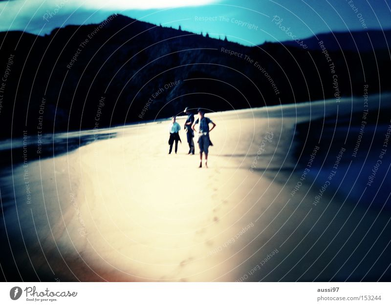 Tasman track Beach Summer Vacation & Travel Blur Lomography Coast 2 beaches white sand vignette Tilt