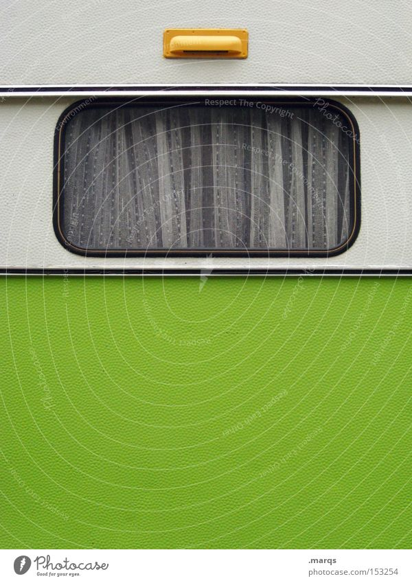 Apartment White Green Joy Vacation & Travel Far-off places Window Freedom Happy Transport Trip Retro Driving Tourism Authentic Leisure and hobbies