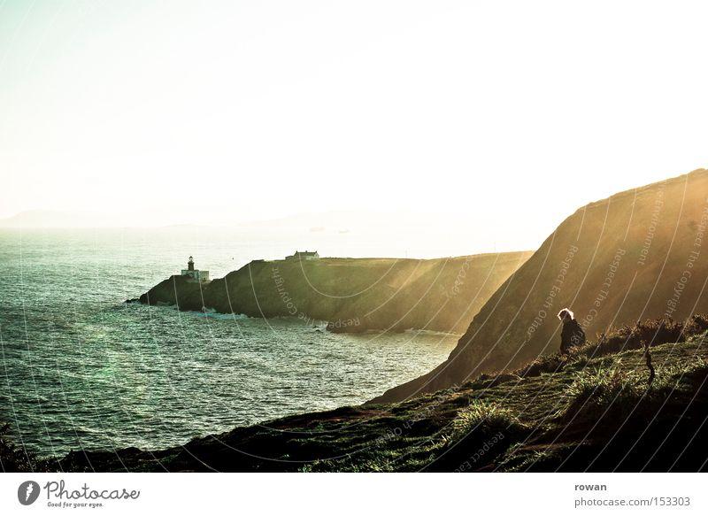Nature Sun Ocean Winter Beach Mountain Lake Coast Rock Vantage point Lighthouse Cliff Ireland