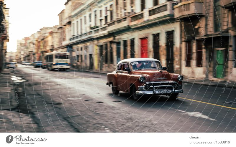Vacation & Travel City Old House (Residential Structure) Far-off places Street Tourism Car Transport Authentic Driving Capital city Downtown