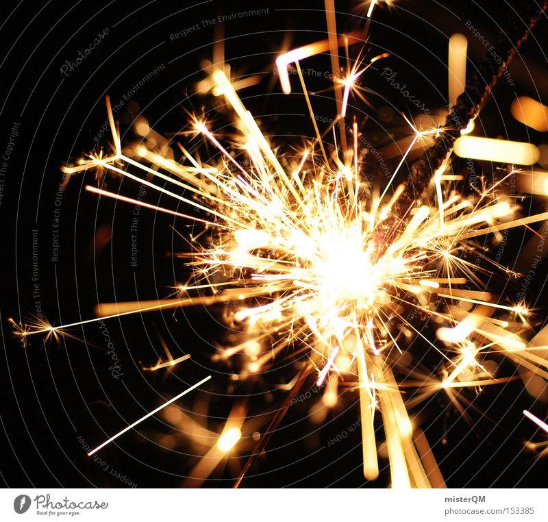 Joy Party Blaze Fire Dangerous Threat New Year's Eve Hot Burn Spark Ignite Sparkler Burnt Explosive Rousing