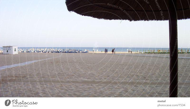 beach view Beach Ocean Dusk Horizon Portugal Sand Umbrella