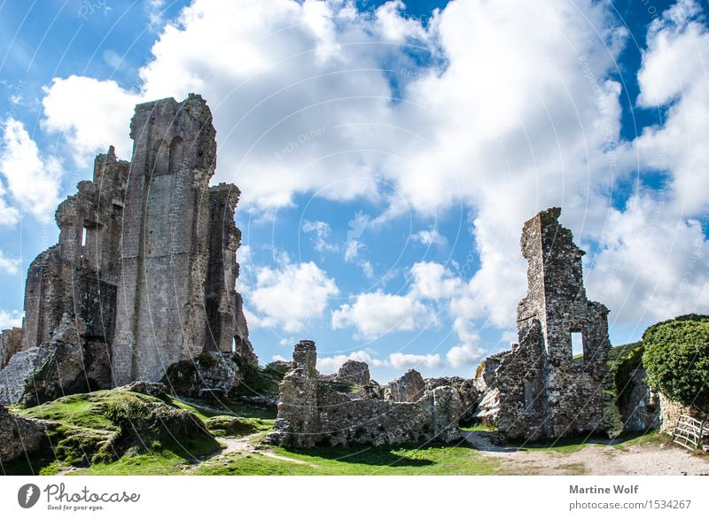 Nature Vacation & Travel Clouds Transience Tourist Attraction Ruin England Great Britain