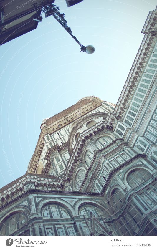 The Dome Art Work of art Architecture Sky Cloudless sky Spring Beautiful weather Florence Town Downtown Old town Skyline Deserted House (Residential Structure)