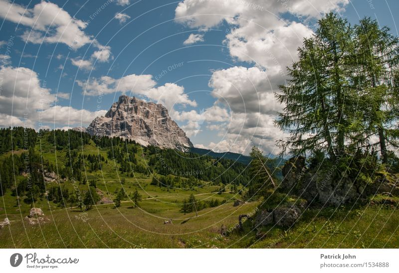 Dolomites Fitness Vacation & Travel Tourism Mountain Hiking Climbing Mountaineering Environment Nature Landscape Plant Animal Air Sky Clouds Summer