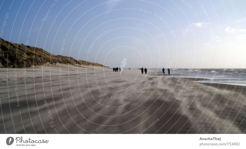 Sky Ocean Landscape Beach Coast Sand Earth Waves Wind Hiking Discover North Sea Gale Denmark