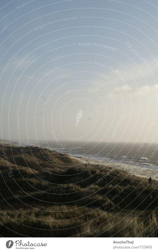 Ocean Beach Waves Coast Wind Vantage point Gale Beach dune Dune North Sea Denmark