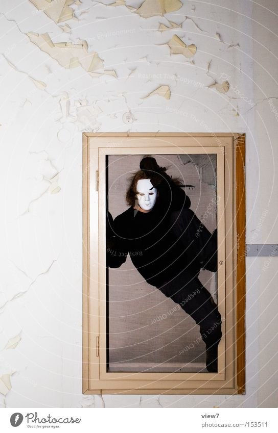Human being Man Black Wall (building) Grief Mask Image Things Obscure Distress Hollow Frame Penitentiary Criminal Strongbox Cage