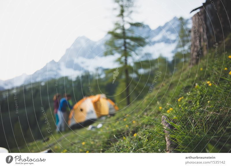 Hiking in the Dachstein Mountains Healthy Athletic Fitness Leisure and hobbies Vacation & Travel Tourism Trip Freedom Climbing Mountaineering Human being