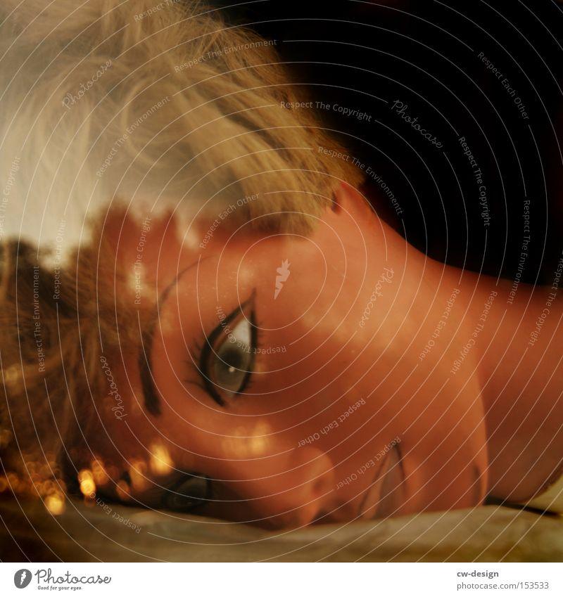 Woman Beautiful Face Eyes Feminine Esthetic Boredom Doll Trade fair Exhibition Mannequin