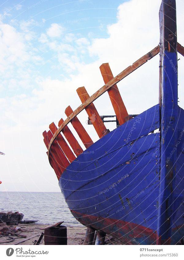 Water Blue Lake Watercraft Navigation Fishery Fishing boat Wreck Hull