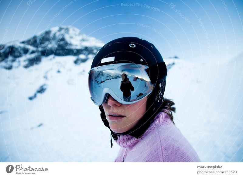 safety first, helmet mandatory from now on Mountain Alpine Winter Helmet Eyeglasses Safety Protection Reflection Switzerland Bernese Oberland Kleine Scheidegg