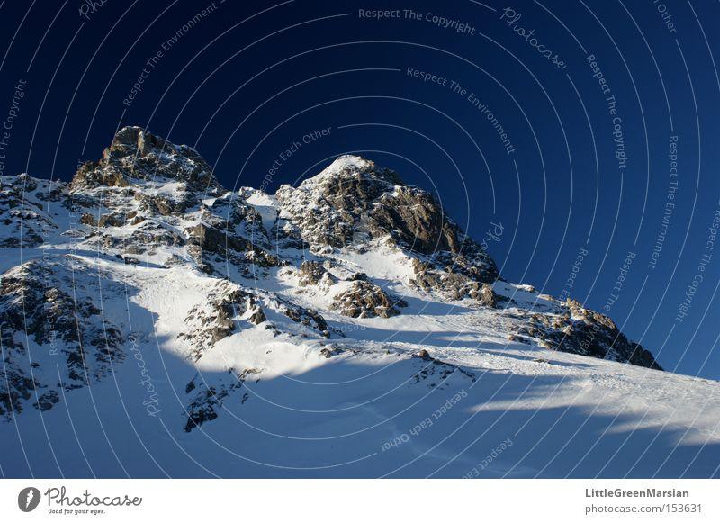 Sky Winter Mountain Snow Rock Peak Switzerland Ski resort Slope Ski run Highway Davos Parsenn