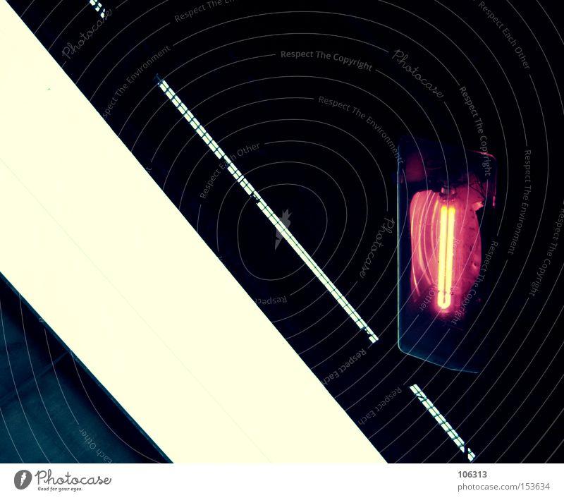 White Red Black Dark Bright Lighting Lamp Industry Illustration Graphic