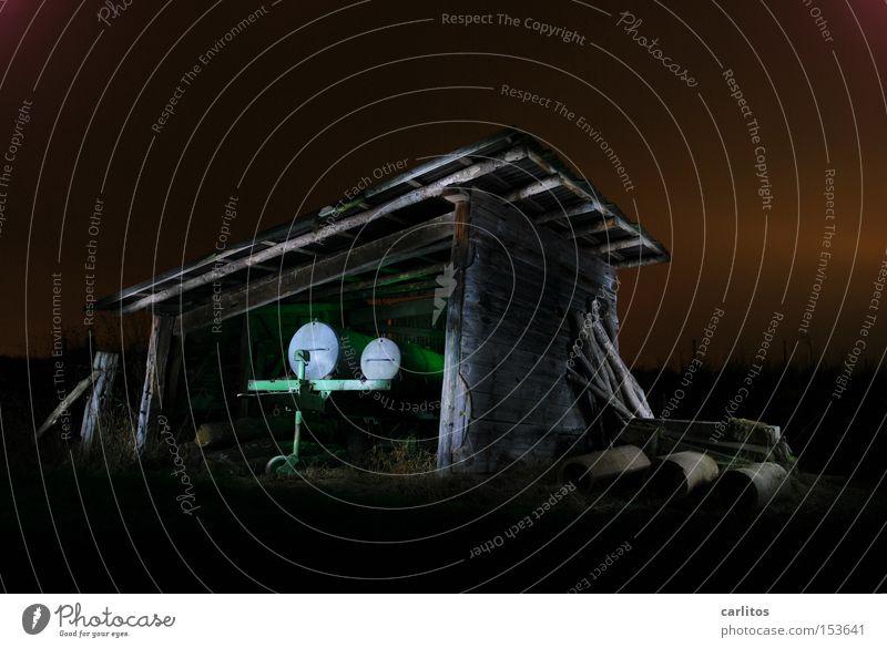 Green Colour Dark Agriculture Radiation Barn Followers Radioactivity