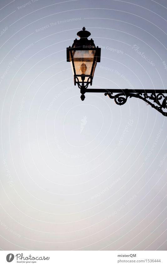 Italian lamp. Art Work of art Esthetic Lamp Lantern Italy Tuscany Vacation & Travel Vacation destination Vacation photo Light Baroque Colour photo Multicoloured