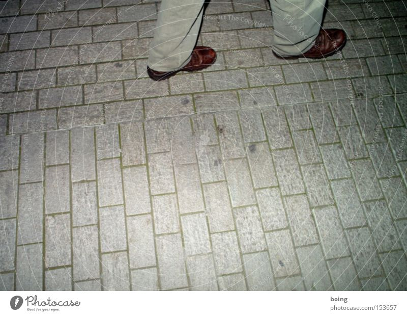 Feet Footwear Dance Going Walking Concentrate Leather Paving stone Steppe Wiggly line Nocturnal ramble Casual shoe