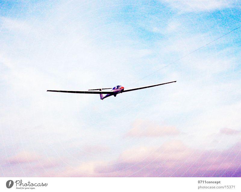 Sky Airplane Beginning Aviation Airplane landing Sailplane Glider flight