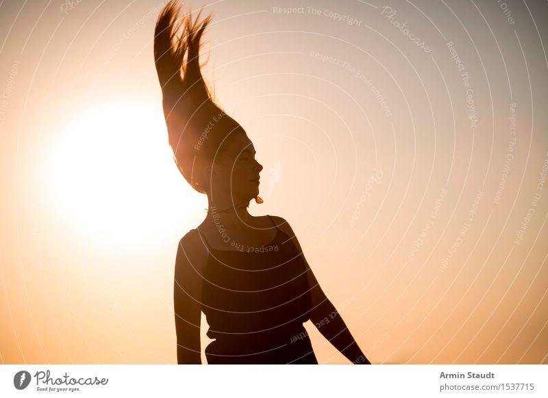 pharaoh Lifestyle Elegant Style Design Exotic Joy Beautiful Hair and hairstyles Senses Playing Vacation & Travel Summer vacation Beach Human being Feminine