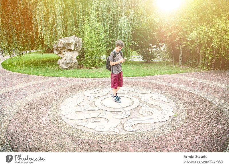 Human being Child Nature Vacation & Travel Youth (Young adults) Far-off places Lanes & trails Lifestyle Tourism Masculine Park Decoration Trip Infancy