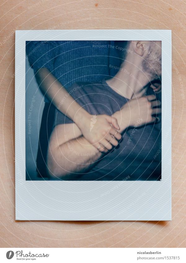 The Polaroid Session (3) Joy Beautiful Body Well-being Contentment Senses Flirt Masculine Feminine Friendship Couple Youth (Young adults) Life Arm Hand 2
