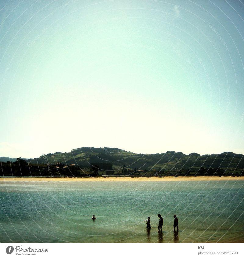Water Ocean Summer Beach Calm Mountain Lake Coast Swimming & Bathing Idyll Atlantic Ocean