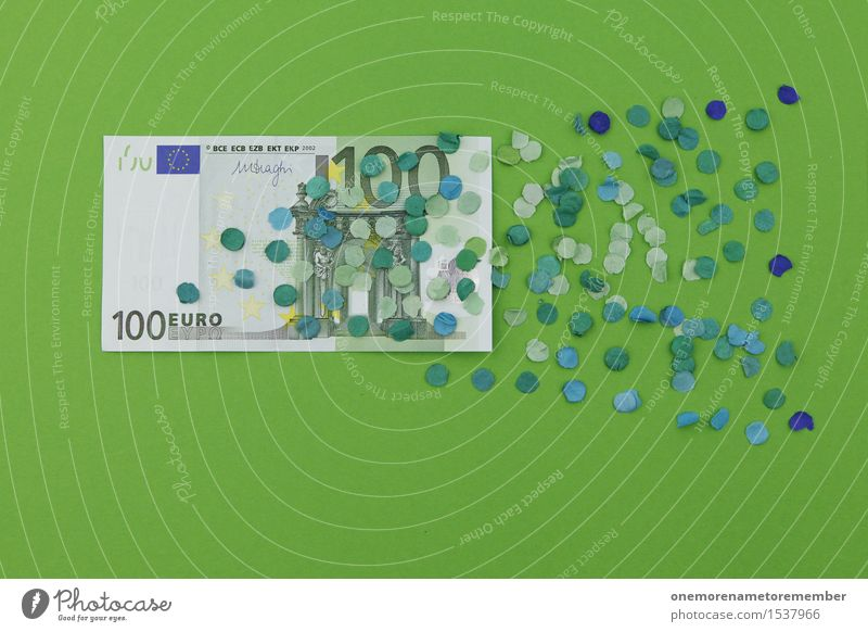 That's 100 euros! Huh? Art Work of art Esthetic Financial Crisis Money Financial institution Bank note Financial difficulty Donation Financial backer