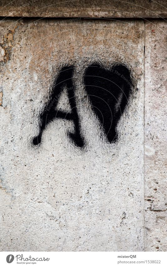 A-Lover. Art Work of art Esthetic Letters (alphabet) Graffiti Facade Declaration of love Display of affection With love Love life Loving relationship Heart
