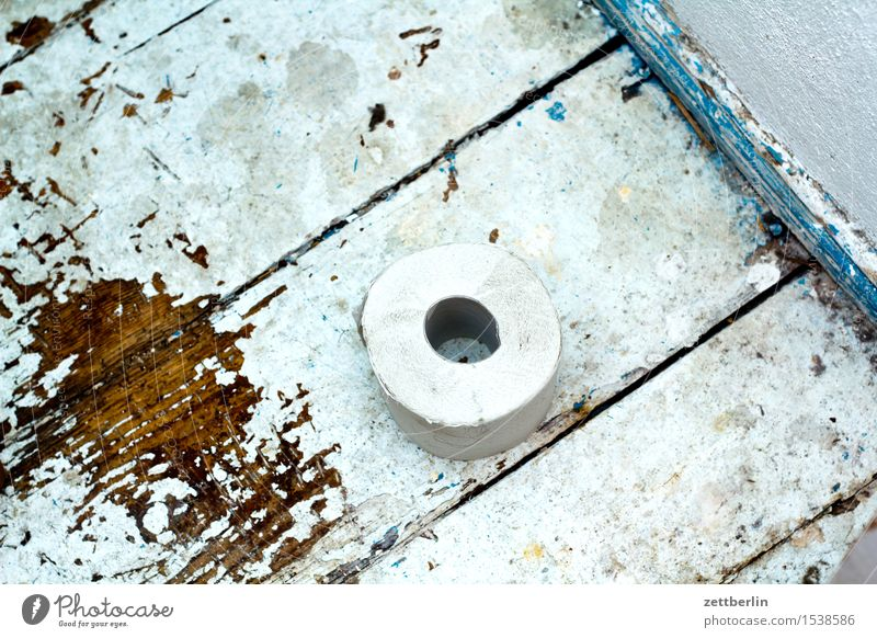 Old Wood Flat (apartment) Room Lie Living or residing Dirty Paper Apartment Building Toilet Hallway Wooden floor Coil Old building Rental toilet