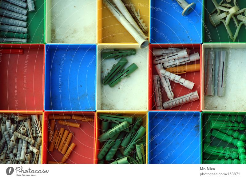 White Green Blue Red Yellow Small Markets Large Arrangement Leisure and hobbies Thin Long Craft (trade) Material Short Colour Guide