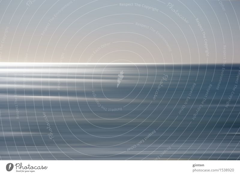 Vacation & Travel Blue Water Sun Ocean Beach Coast Gray Horizon Glittering Elegant USA Surface of water Smoothness California