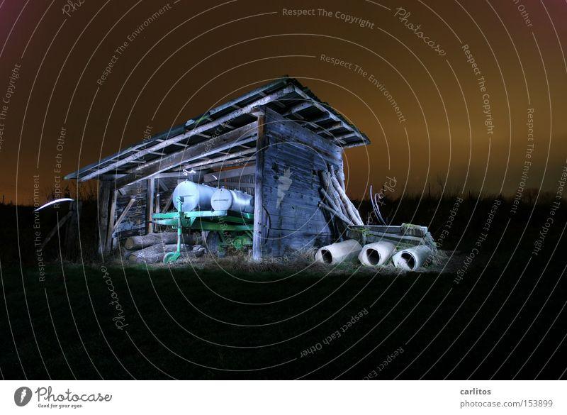Green Colour Dark Long exposure Derelict Agriculture Radiation Light Barn Followers Radioactivity