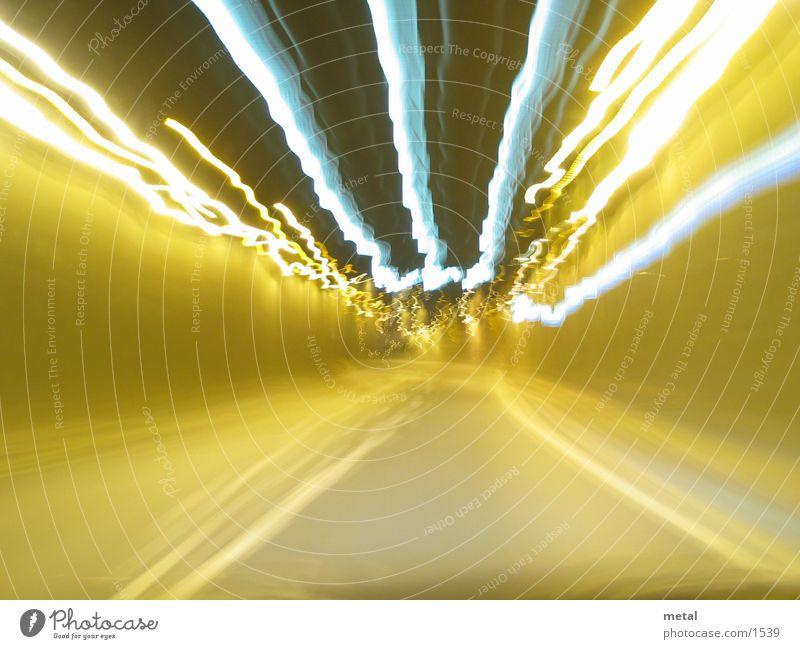 tunnel ride Tunnel Night Long exposure Bonn Speed Tunnel vision