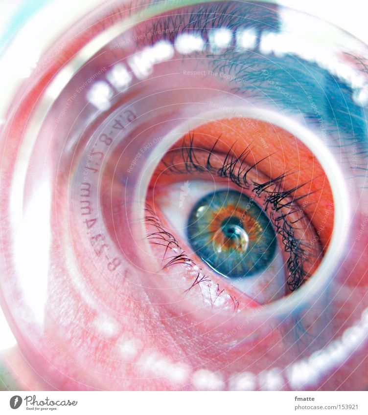Blue Eyes Concentrate Eyelash Vista CD Pupil