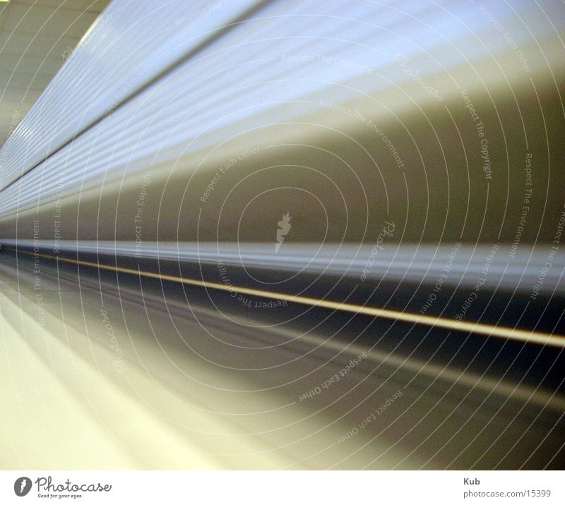 The line Tunnel Industry Perspective Technology Metal Line End