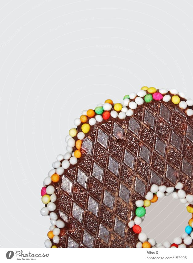 Christmas & Advent Brown Food Glittering Nutrition Sweet Candy Delicious Chocolate Checkered Pearl Sugar Macro (Extreme close-up) Sugar perl