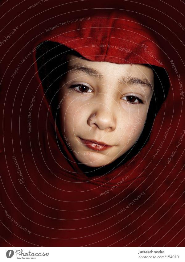 Child Red Joy Boy (child) Trust Infancy Friendliness Smooth Hooded (clothing)
