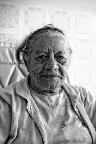 Old Woman Human being Wrinkle Face Black & white photo Brazil Exterior shot