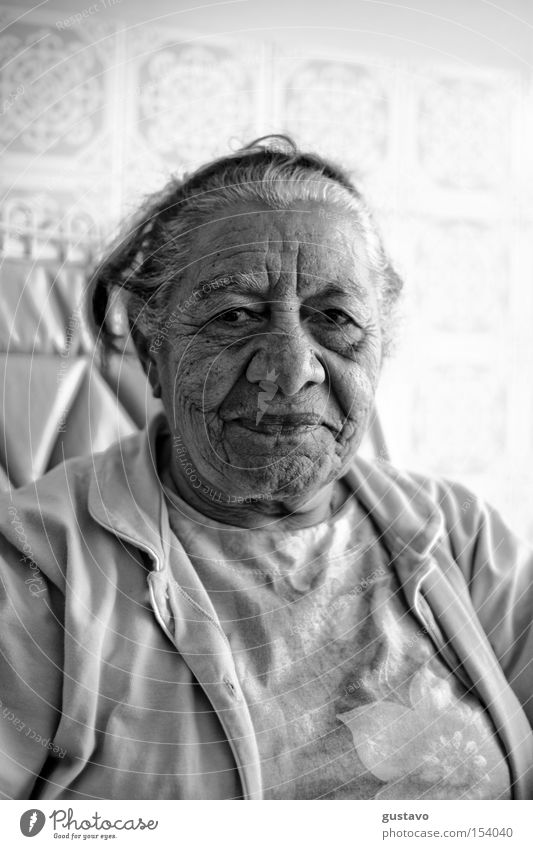 Old Woman Woman Human being Old Face Wrinkle Brazil