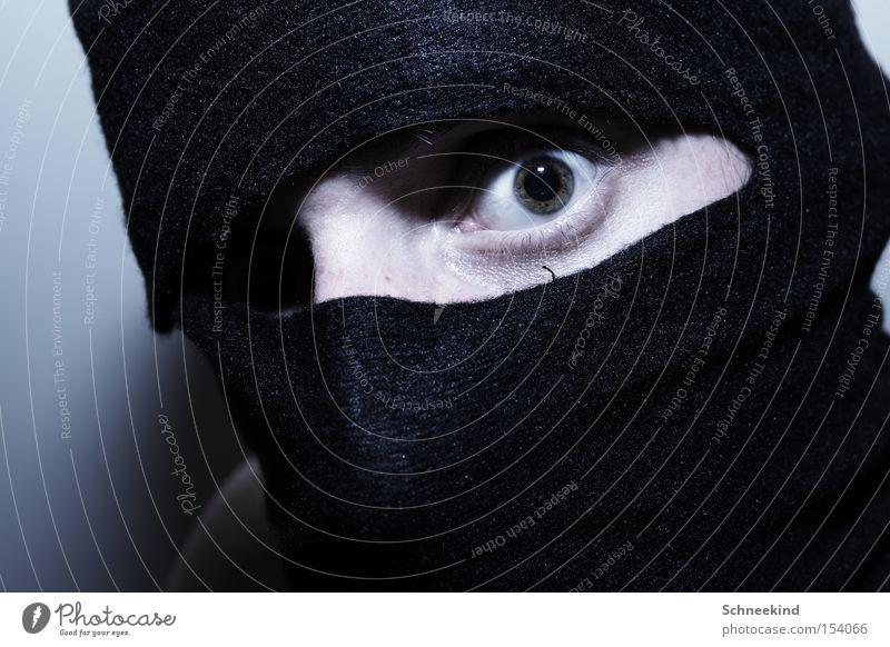 spy Ninja Mask Eyes Assassin Fear Panic Dangerous Martial arts mascot shadow warrior shinobi Informer Nirvana Ninjutsu