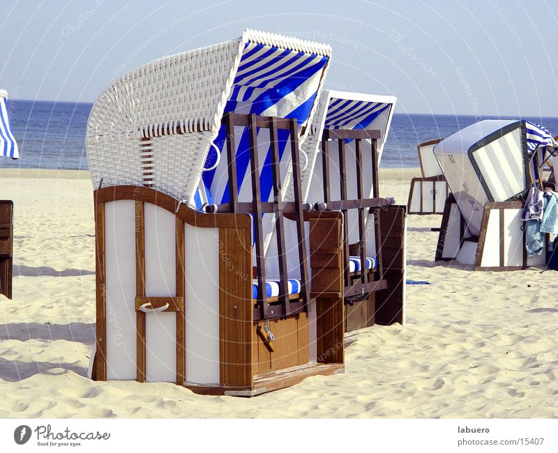 The last Beach Beach chair Ocean Europe Sand Baltic Sea Sun
