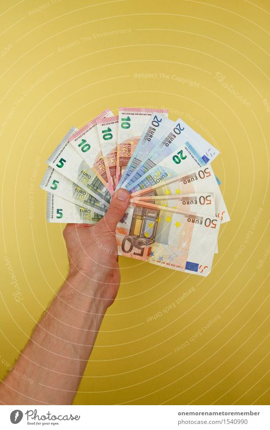 Hand Art Action Esthetic Success Money To hold on Many Financial institution 5 Rich Bank note 20 Work of art Euro 10