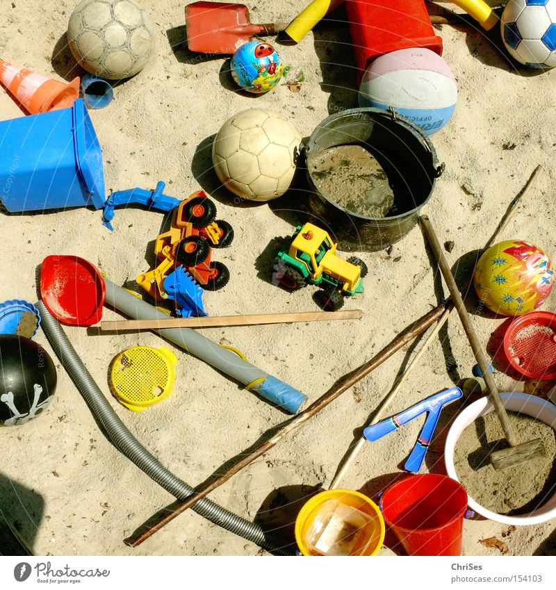 Playing Sand Leisure and hobbies Infancy Ball Toys Chaos Muddled Stick 7 Excavator Tractor Shovel Bucket Sandpit