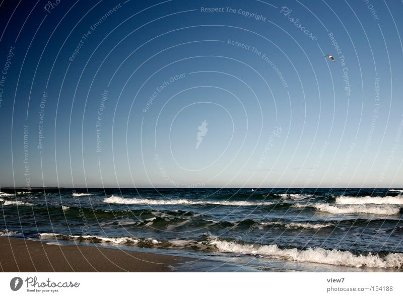 Water Beautiful Sky Ocean Summer Winter Beach Vacation & Travel Cold Relaxation Sand Waves Coast Horizon Baltic Sea Current