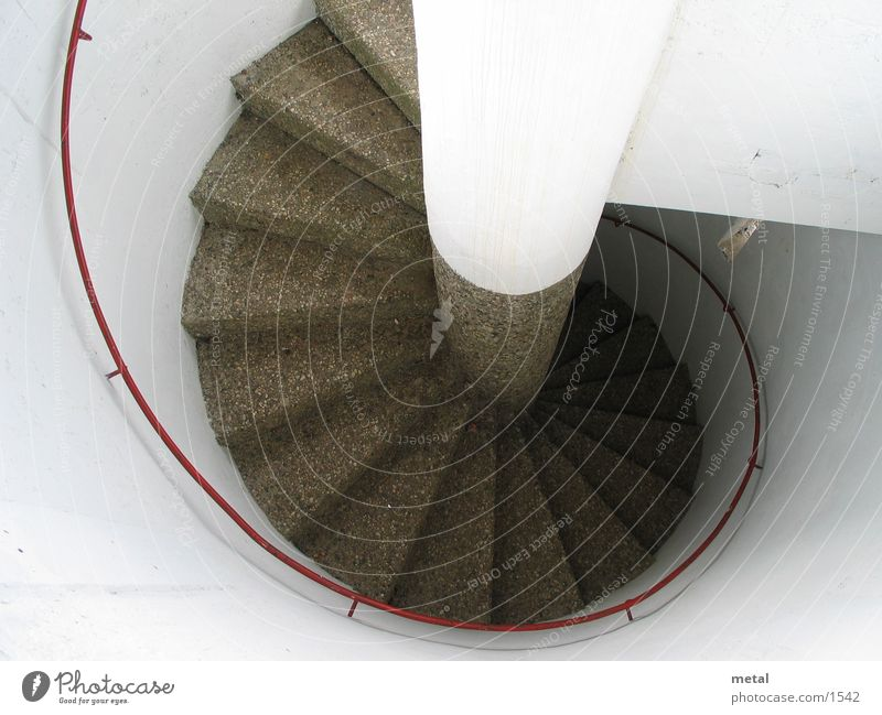 White Architecture Circle Stairs Round Tower
